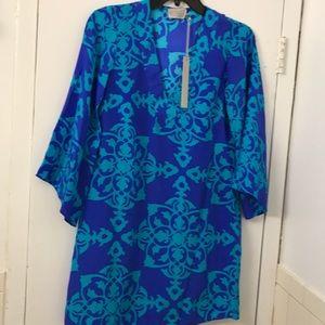 NWT Alice & Trixie silk dress/tunic. Size XS